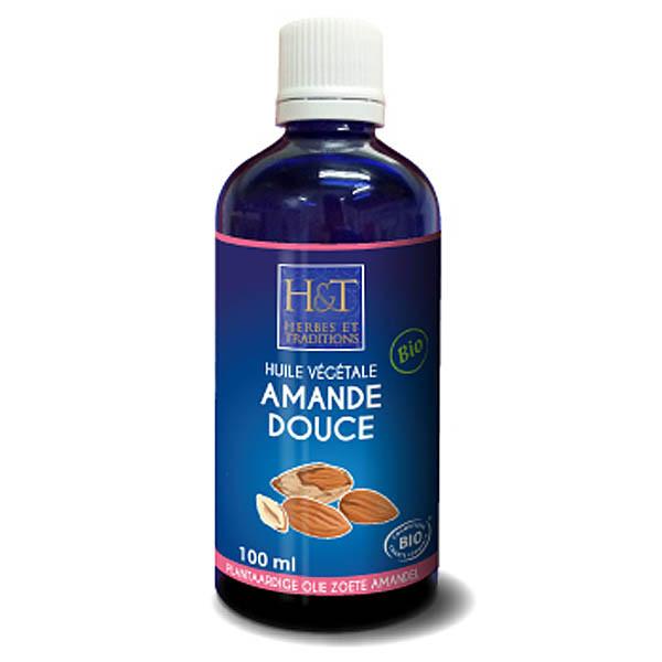 Mandlový olej lisovaný z ořechů BIO 50/100 ml